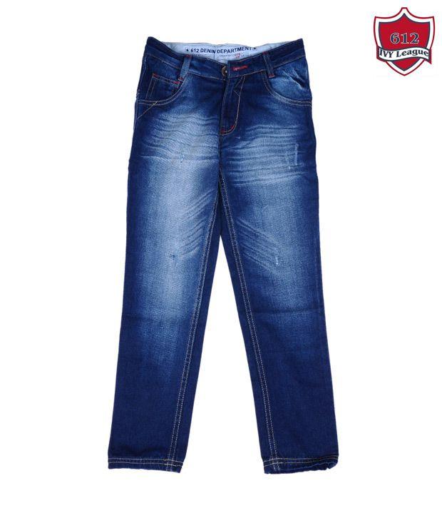 612Ivyleague Cool Dark Blue Jeans