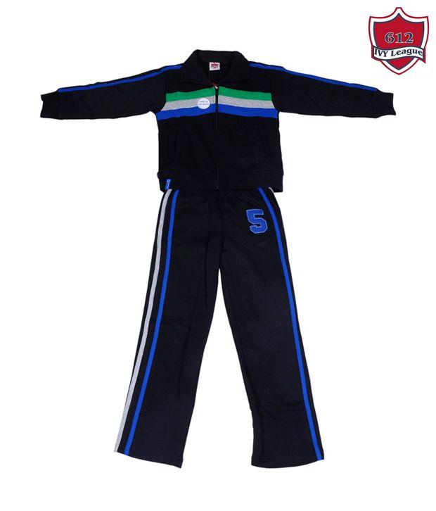 612Ivyleague Navy Blue Track Suit