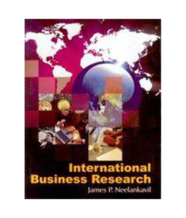 research international business Introduction many marketing research professionals encounter skepticism from executives and other business decision makers when.