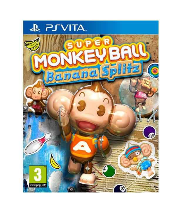 Super Monkey Ball: Banana Splitz For PS Vita