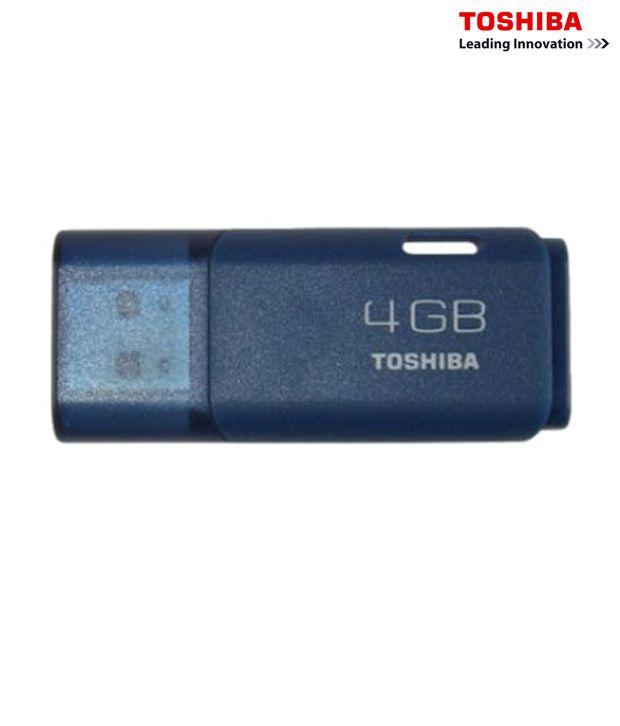 Toshiba 4GB Hayabusa Pen Drive (Blue)