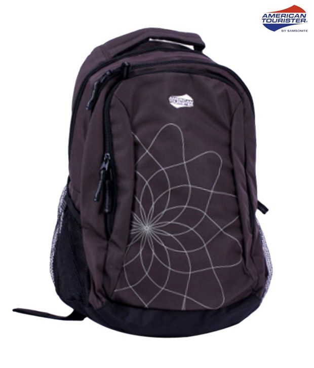 American Tourister Cool Brown Code 9 Backpack