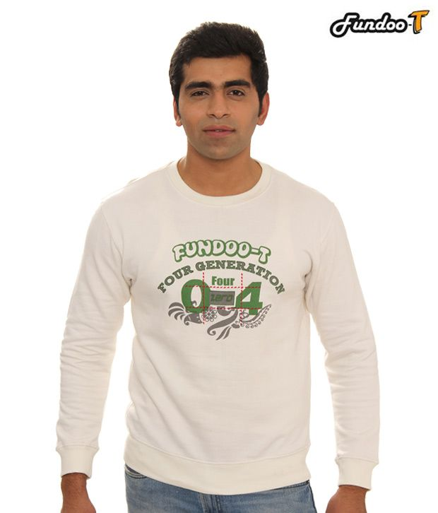 Fundoo-T White T-Shirt