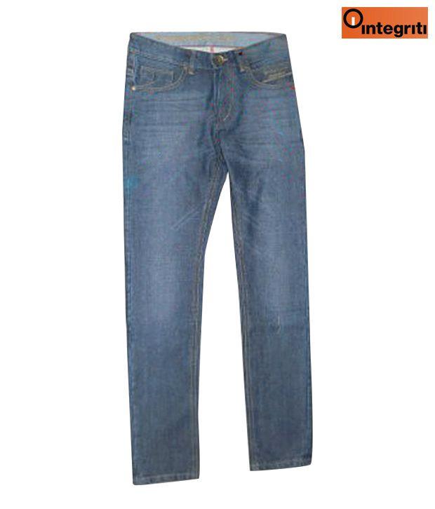 Integriti Raw Blue Jeans