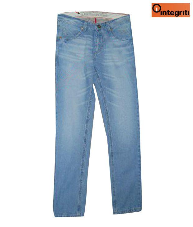 Integriti Stylish Light Blue Men's Jeans