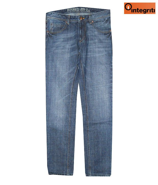 Integriti Trendy Blue Men's Jeans