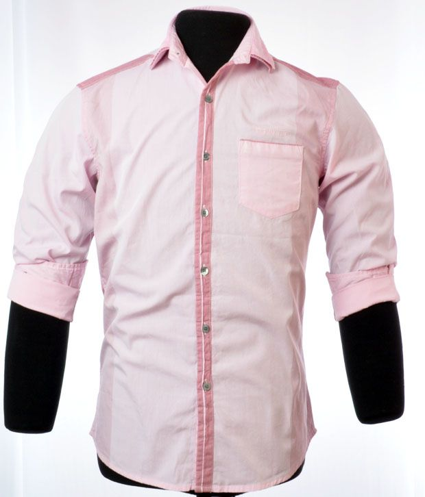 So Design Light Pink Shirts