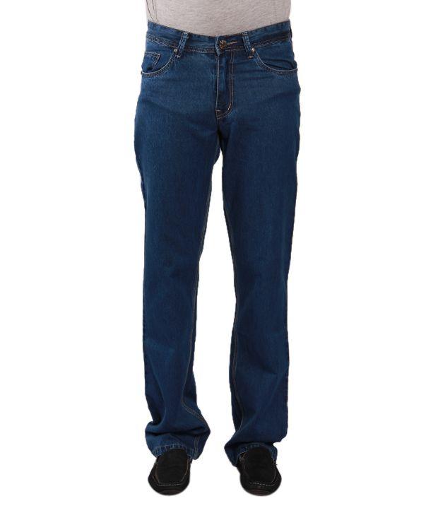 Urban Navy Blue Jeans