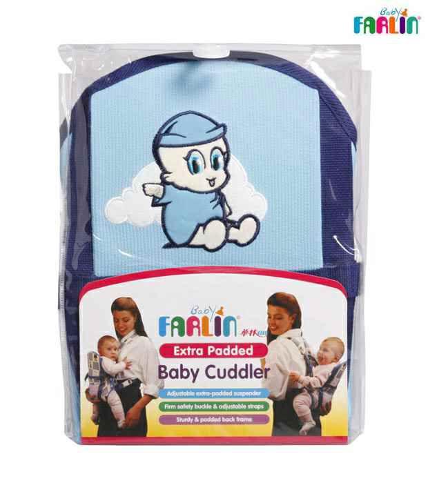 FARLIN Extra Padded Blue Cuddler