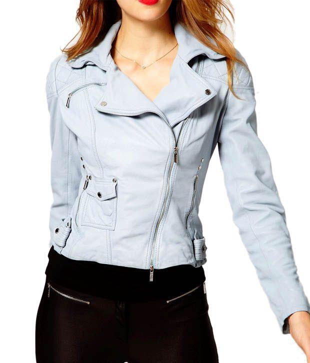 Lieben Mode Sweet Light Blue Jacket