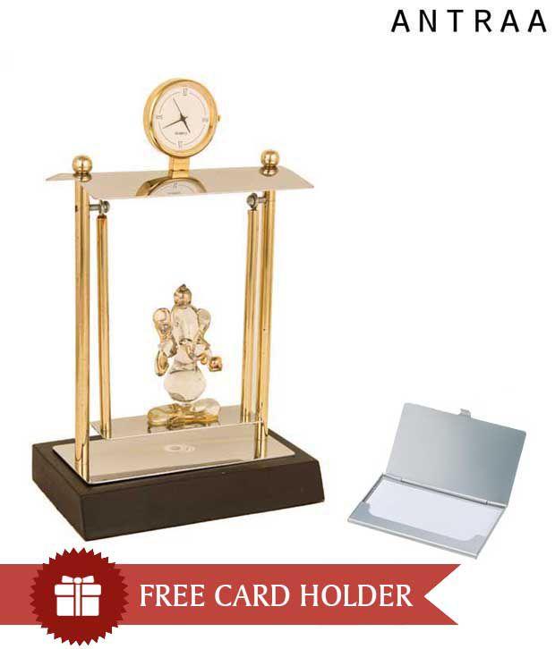 Antraa Ganesha Idol Designer Table Top Clock