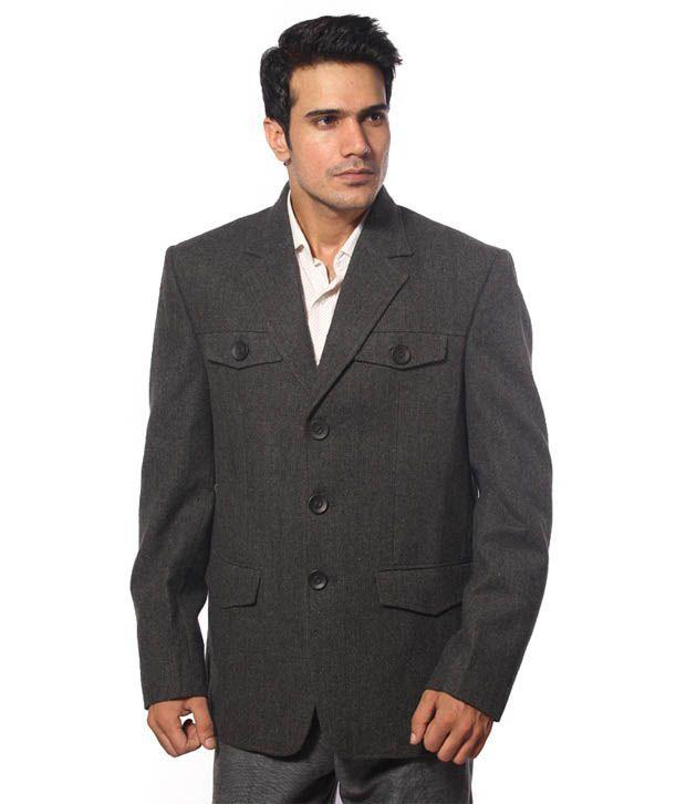 Fort Collins Black & Grey Jacket