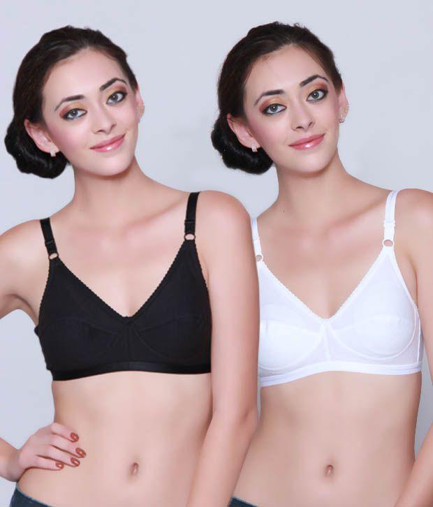 Bodycare Multi Color  Bra & Panty Sets Pack of 3