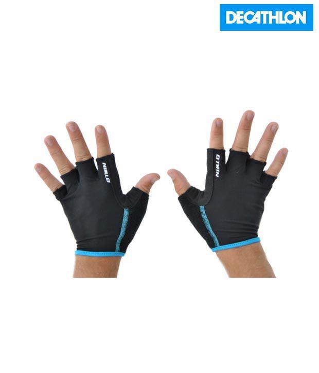 Btwin Black Gloves-7 8200299