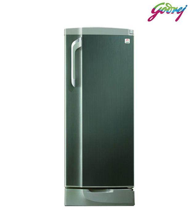 Godrej GDE 19DS4 Single Door 183 Ltr Refrigerator Black Streak