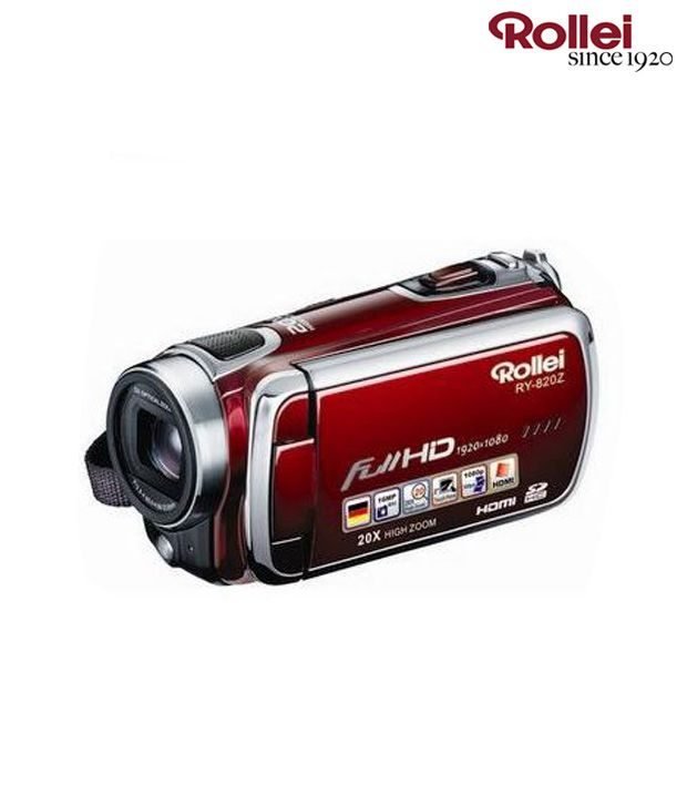 Rollei RY-820Z Digital Video Camera (Red)