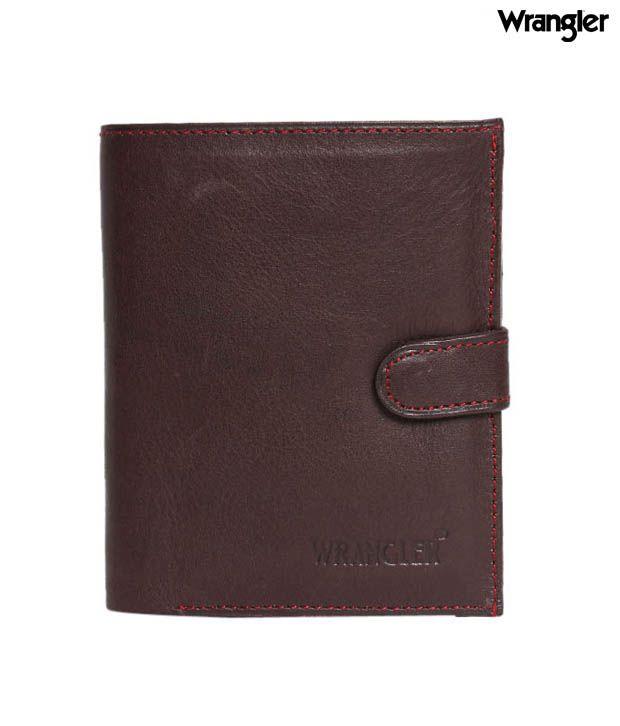 Wrangler Fashionable Dark Brown Wallet