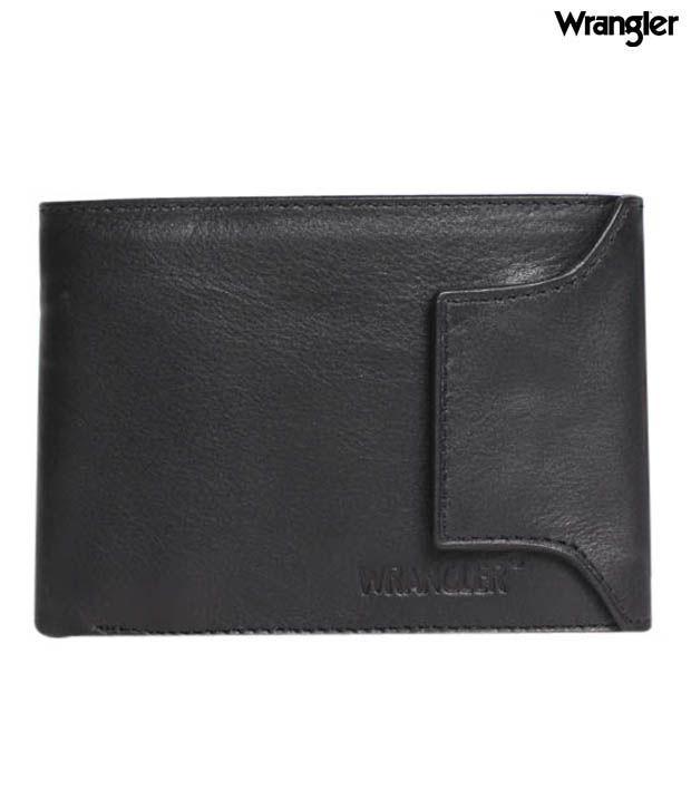 Wrangler Elegant Black Wallet