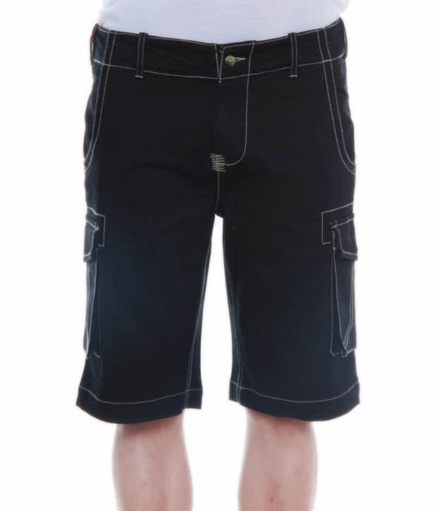 Alfredo Coporusso Smart Black Bermuda Shorts