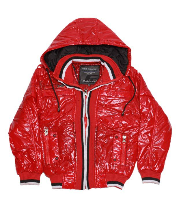 Fort Collins Red & White Jacket For Kids