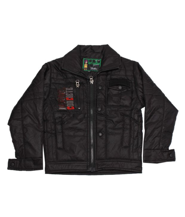 Fort Collins Stylish Black Jacket For Kids