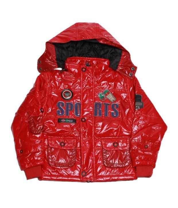 Fort Collins Vibrant Red Jacket For Kids