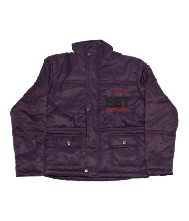 Fort Collins Classic Purple Jacket For Kids