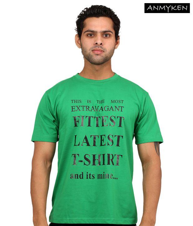 Johney B  Green T Shirt