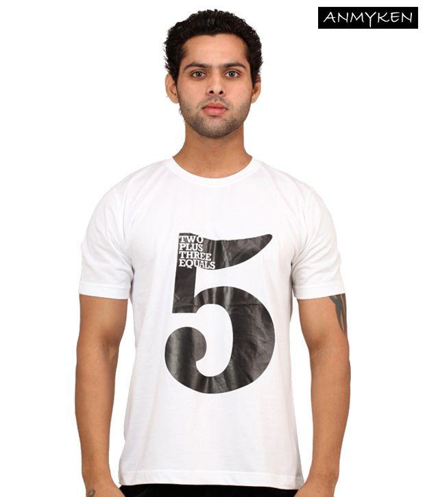 Johney B High Five White T Shirt
