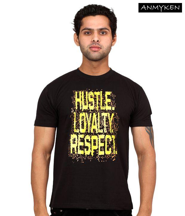Johney B Haluc3Nation Black T Shirt