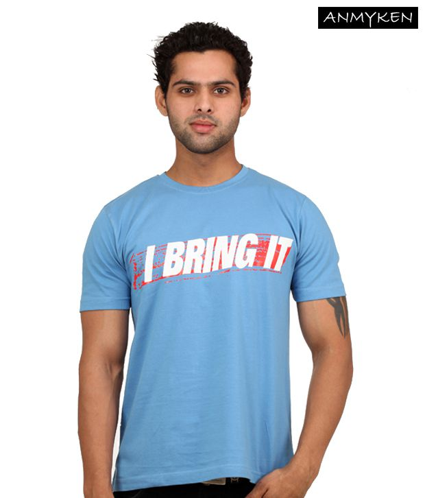Johney B Bring It On Sky Blue T Shirt