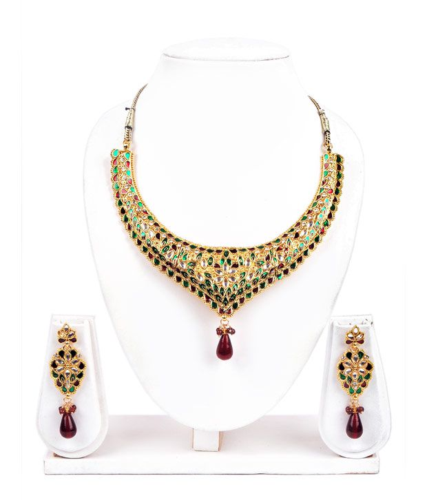 Adhira Finely Crafted Magnificent Necklace Set