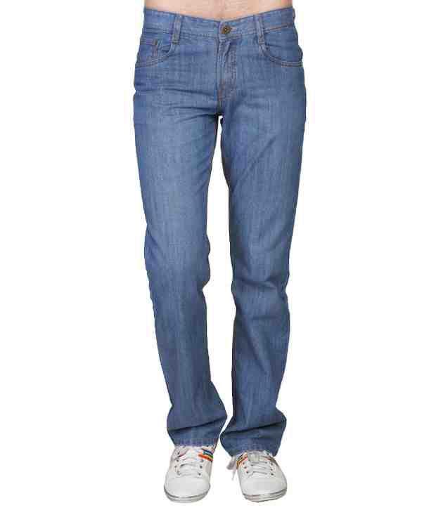 D-Jeans Royal Blue Regular Fit Jeans