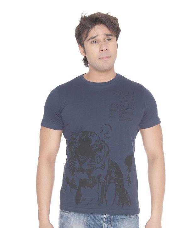USI Classic Navy Blue T-Shirt