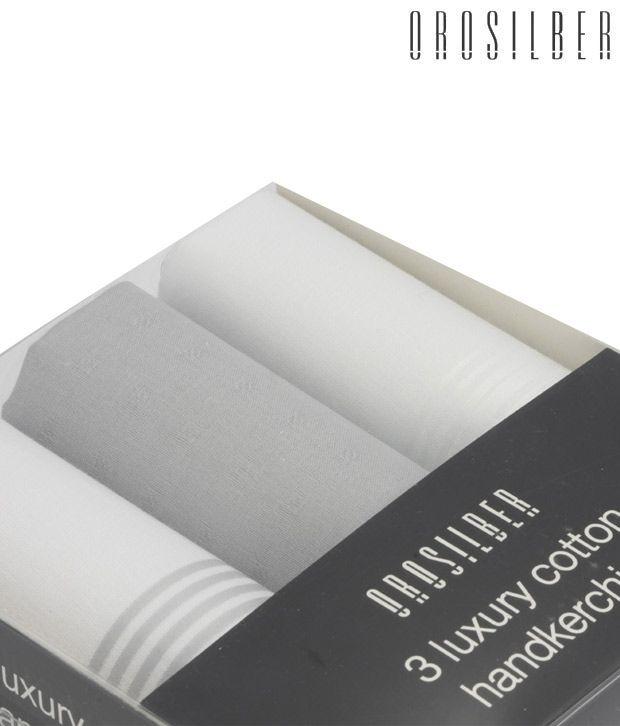 Orosilber Trendy Mixed Luxury Handkerchiefs