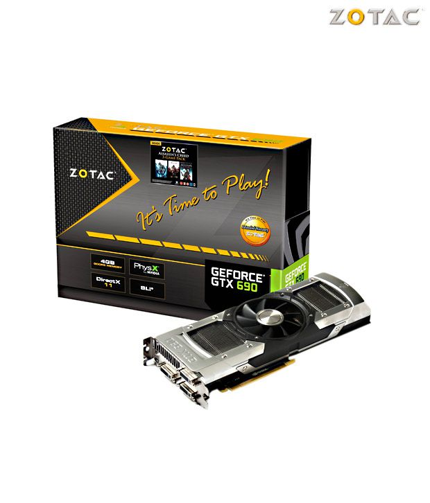 ZOTAC NVIDIA GTX 690 4GB  DDR5  Graphics Card