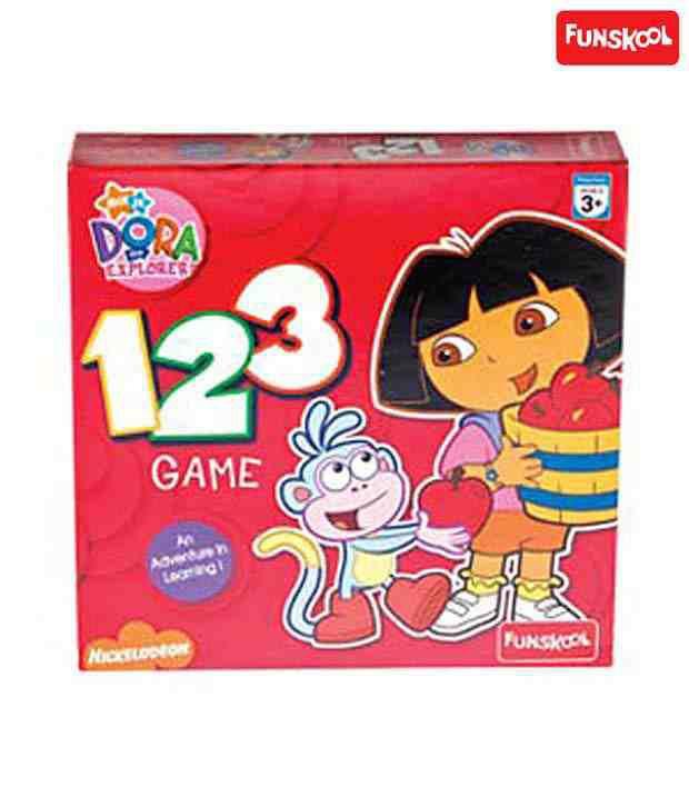 Funskool Dora 123 Game