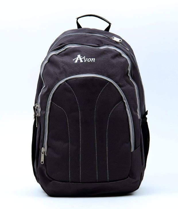 Avon Grey Stylish Laptop Backpack