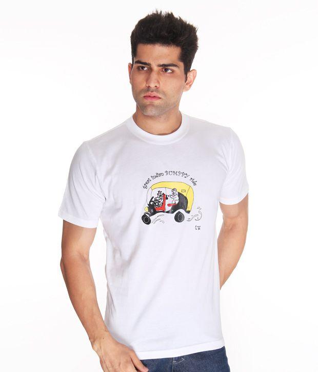Free To Be Bumpy Ride White T Shirt