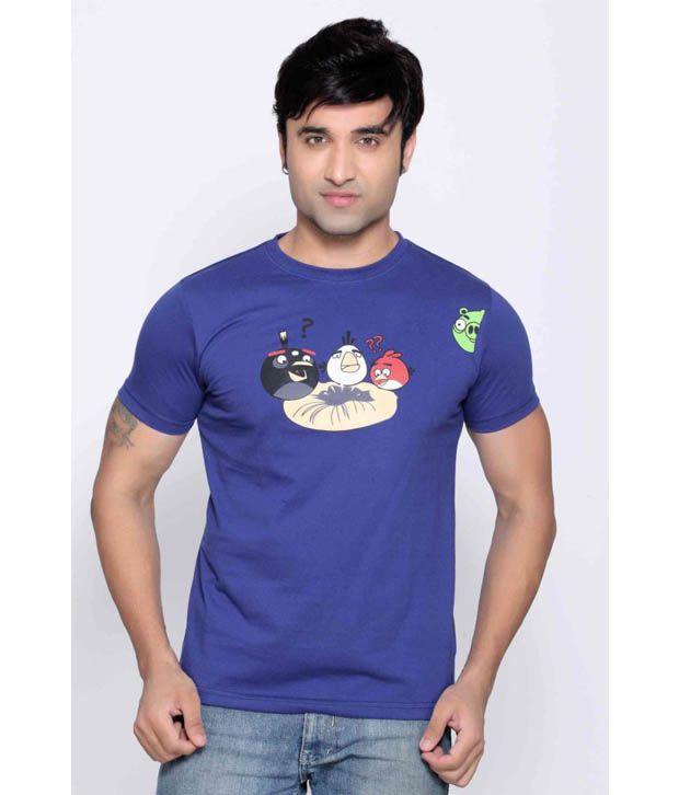 Locomotive Blue T Shirt