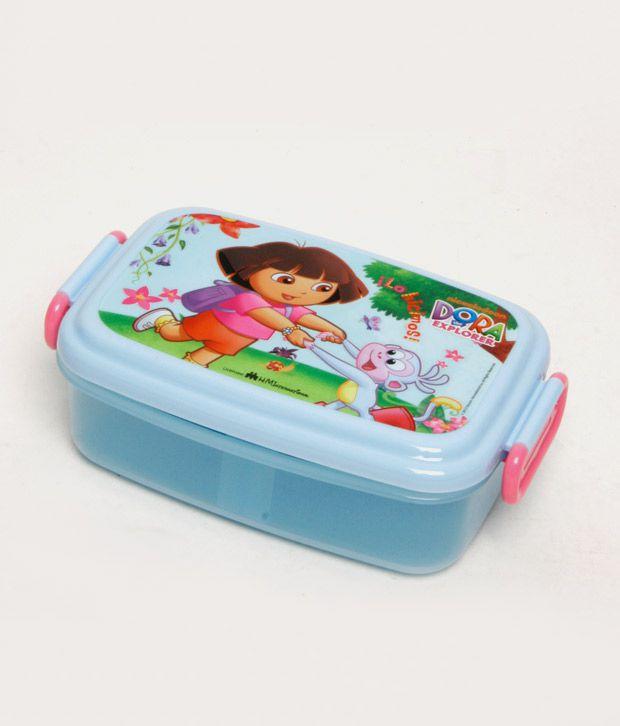 Dora Sky Blue Beautiful Lunch Box