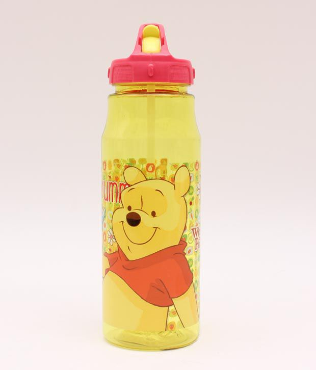 Pooh Yellow Trendy Sipper Bottle