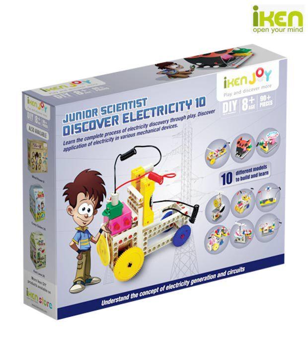 Iken Joy Junior Scientist Discover Electricity 10
