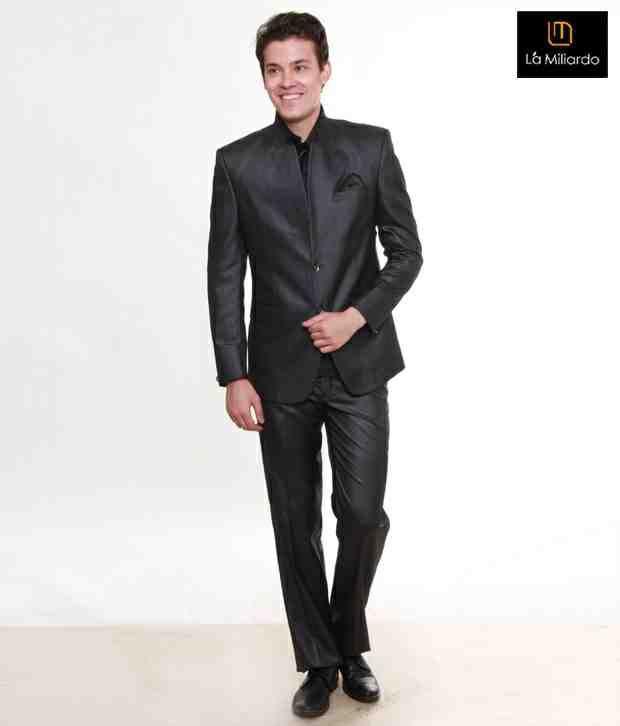 La Miliardo Serene Black Suit