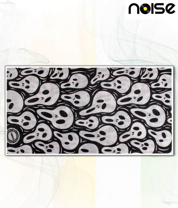 Noise Trendy White & Black Head Wrap