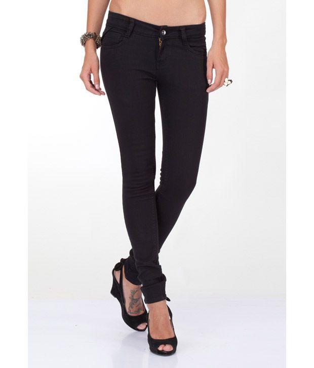 Yepme Raven Black Jeans