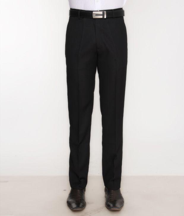 Bombay High Smart Black Trouser
