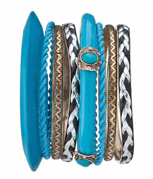 Karrat22 Blue Bangles