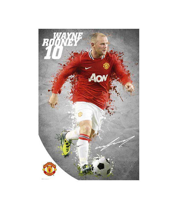 Manchester United FC (Rooney) (24 x 36 Inches)