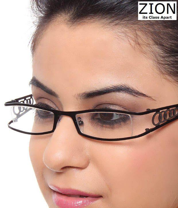 Zion Designer Black Eyewear